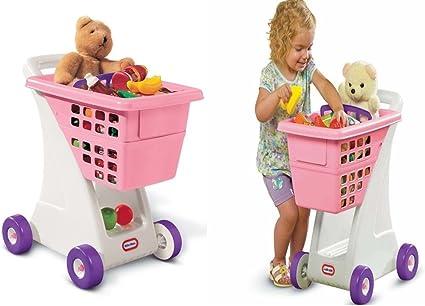 Amazon.com: Carretilla de juguete, carrito de la compra ...