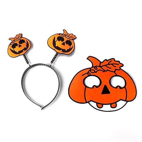 Newin Star Máscara de Halloween para la Cabeza de los niños, diseño de Calavera de