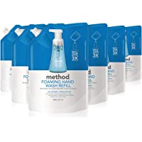 Method Foaming Hand Soap Refill, Sea Minerals, 28 Ounce (Pack 6)