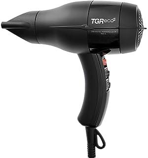 Velecta Paramount TGR Eco XP - Secador de pelo compacto, 2000 W, color negro