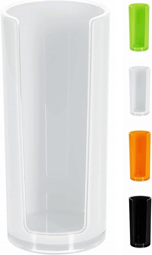 Spirella colección Sydney, Dispensador de Discos de algodón, Acrílico, Blanco, 16.5x7x7 cm: Amazon.es: Hogar