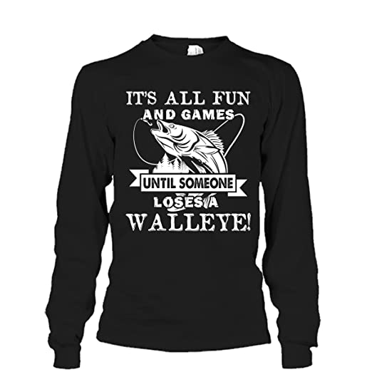 Mazoli Walleye T Shirt Walleye Fishing Cool T Shirts Design