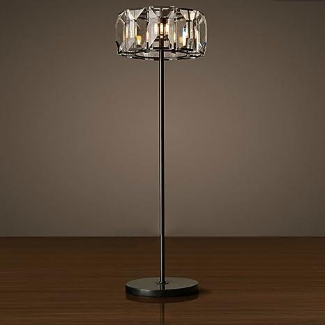 LUO Lámpara de pie para el hogar, LED de lectura de pie