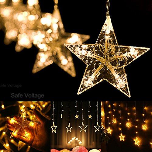 White Icicle Christmas Lights