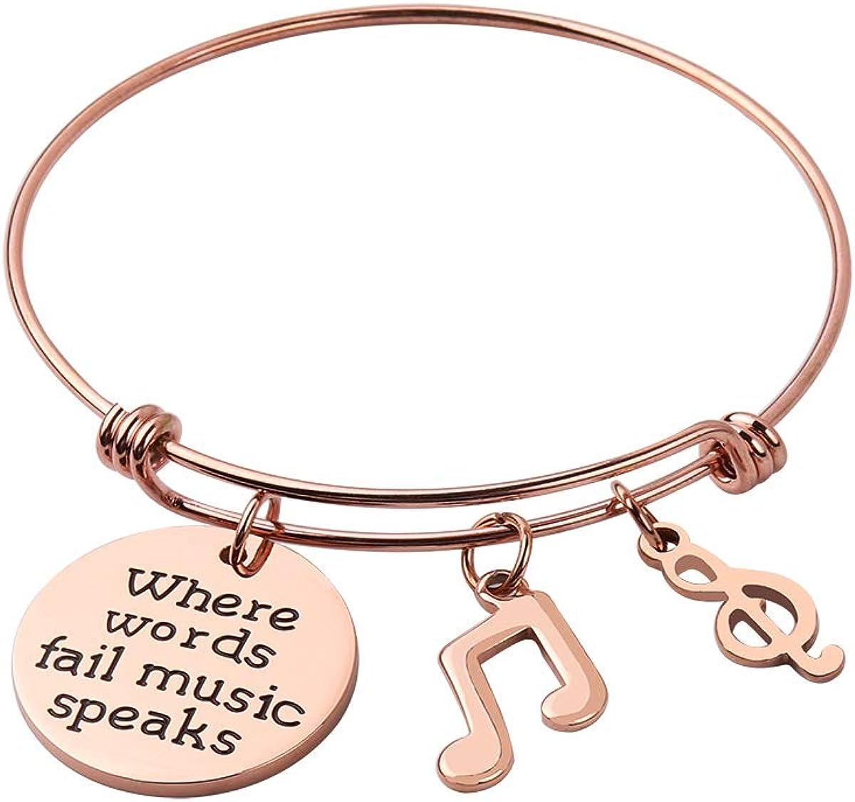 REEBOOO Music Jewelry Music...