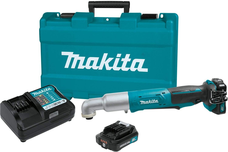 Makita LT01Z 12-Volt 1//4-Inch CXT Cordless Angle Impact Driver Bare Tool