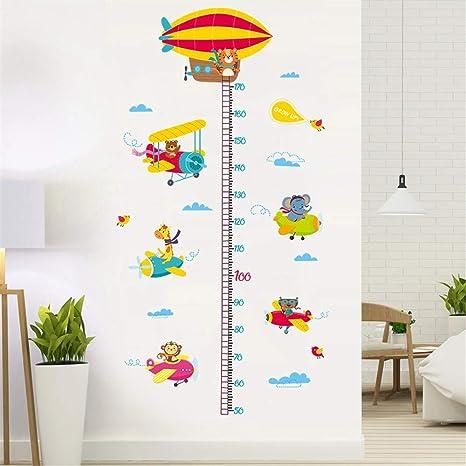 Adesivi Da Parete Per Bambini.Topgrowth Adesivi Muro Bambini Animale Arte Cartone Animato Adesivi Da Parete Removibili Stickers Murali Decorazione Murale