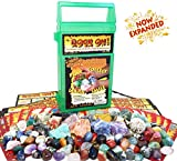 ROCK ON! Geology Game with Rock & Mineral Collection - Connect with Our Magnificent Earth via an Educational Science Kit