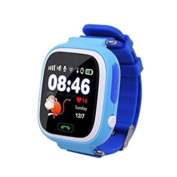 Auntwhale Baby Smart Watch Kid Reloj de Pulsera Impermeable WiFi ...