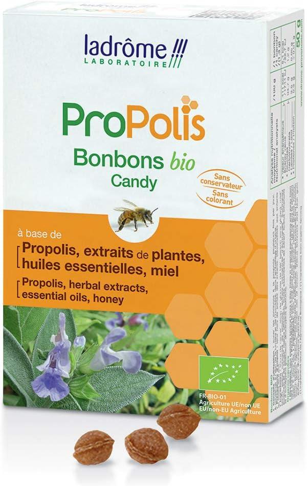 LADROME CARAMELOS DE Propolis Bio 50 g