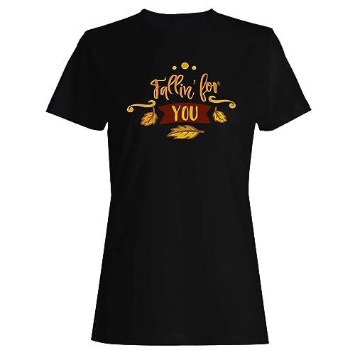 INNOGLEN Mi STO Innamorando di Te t-Shirt da Donna t555f