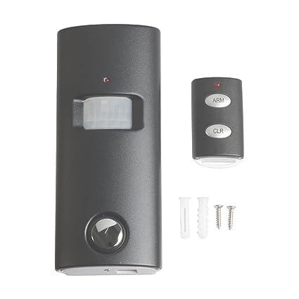 SP63B - Detector de Movimiento Solar con Mando a Distancia, Súper Fuerte, 130 dB