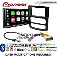 Volunteer Audio Pioneer AVH-W4400NEX Double Din Radio Install Kit with Wireless Apple CarPlay, Android Auto, Bluetooth Fits 2002-2005 Ram
