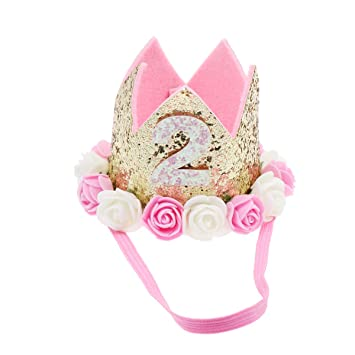 Beaupretty Baby Princess Crown Tiara, Sombrero de decoración ...