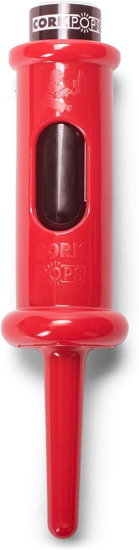 Cork Pops Red 6.5 Inch Max 70% Fees free!! OFF Wine Original Bottle Opener
