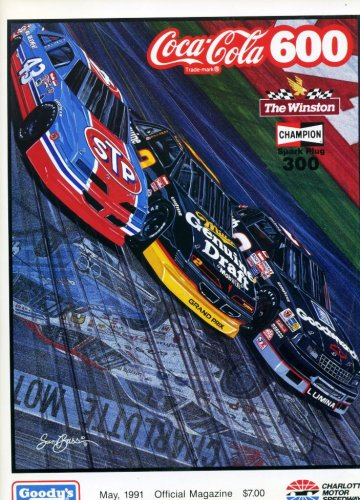 Coca Cola 600 Official Magazine