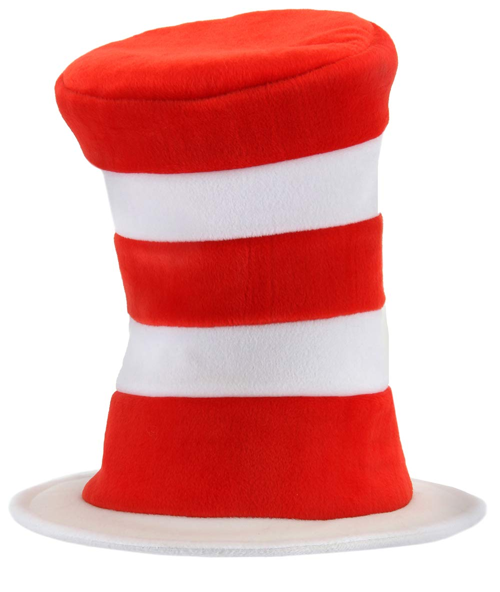 elope Dr. Seuss Cat in the Hat Deluxe Velboa Hat by elope (Image #1)