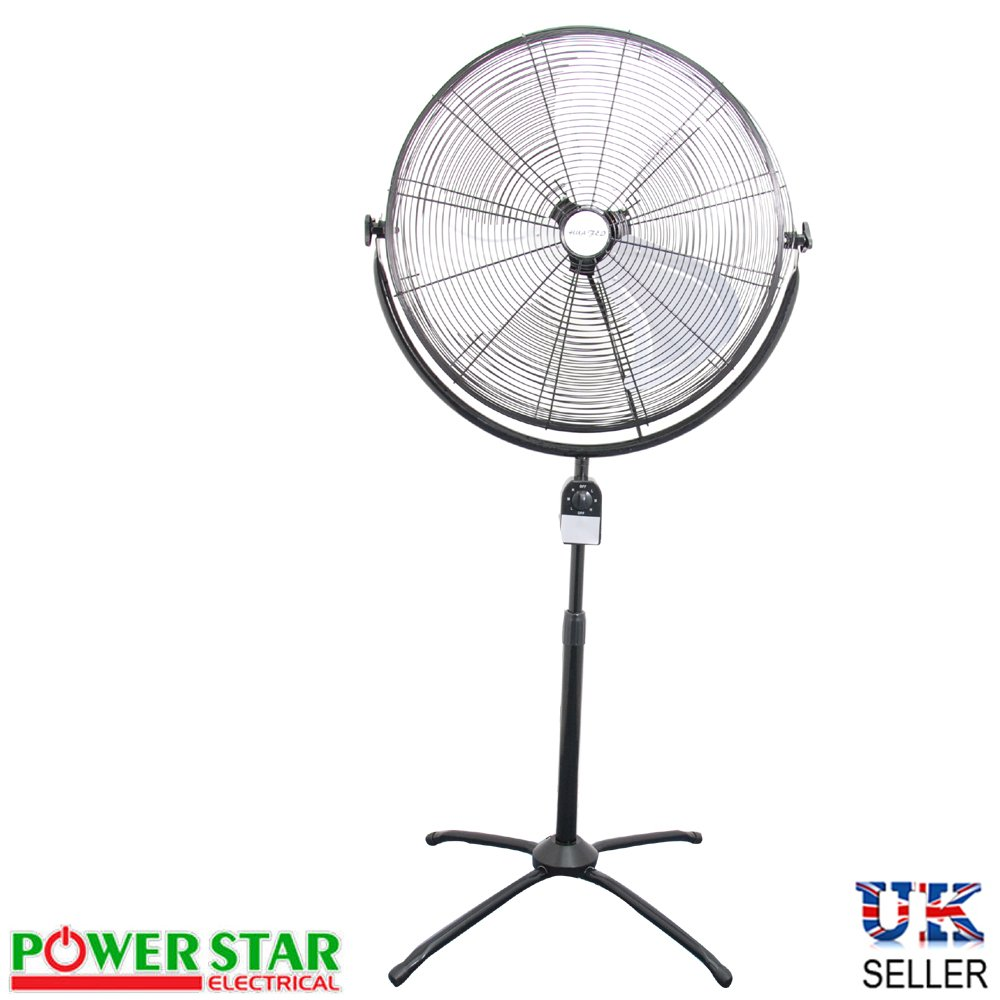 High Power Pedestal floor High Velocity Extendable Tower Stand Fan (18