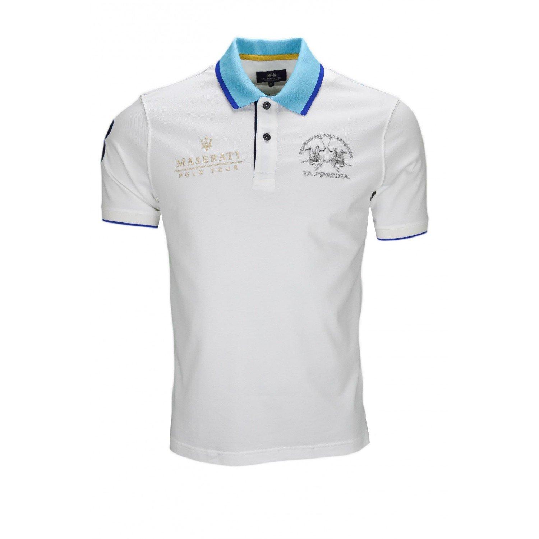 La Martina - Polo - Blusa - para hombre blanco L : Amazon.es: Ropa ...