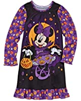 Minnie Mouse Girl's Size 2 HALLOWEEN Pumpkin Nightgown, Nightshirt