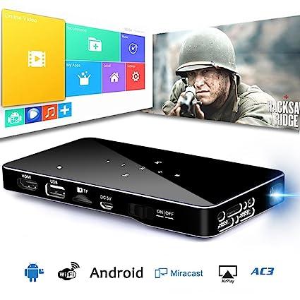 Mini proyector DLP, conectividad USB HDMI & WiFi Wireless, 1080p ...