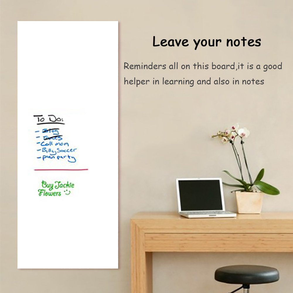 Amazon dry erase wall decal anumit self adhesive wall amazon dry erase wall decal anumit self adhesive wall sticker wall paper whiteboard wall decals for school office home 177 by 787 inches amipublicfo Images