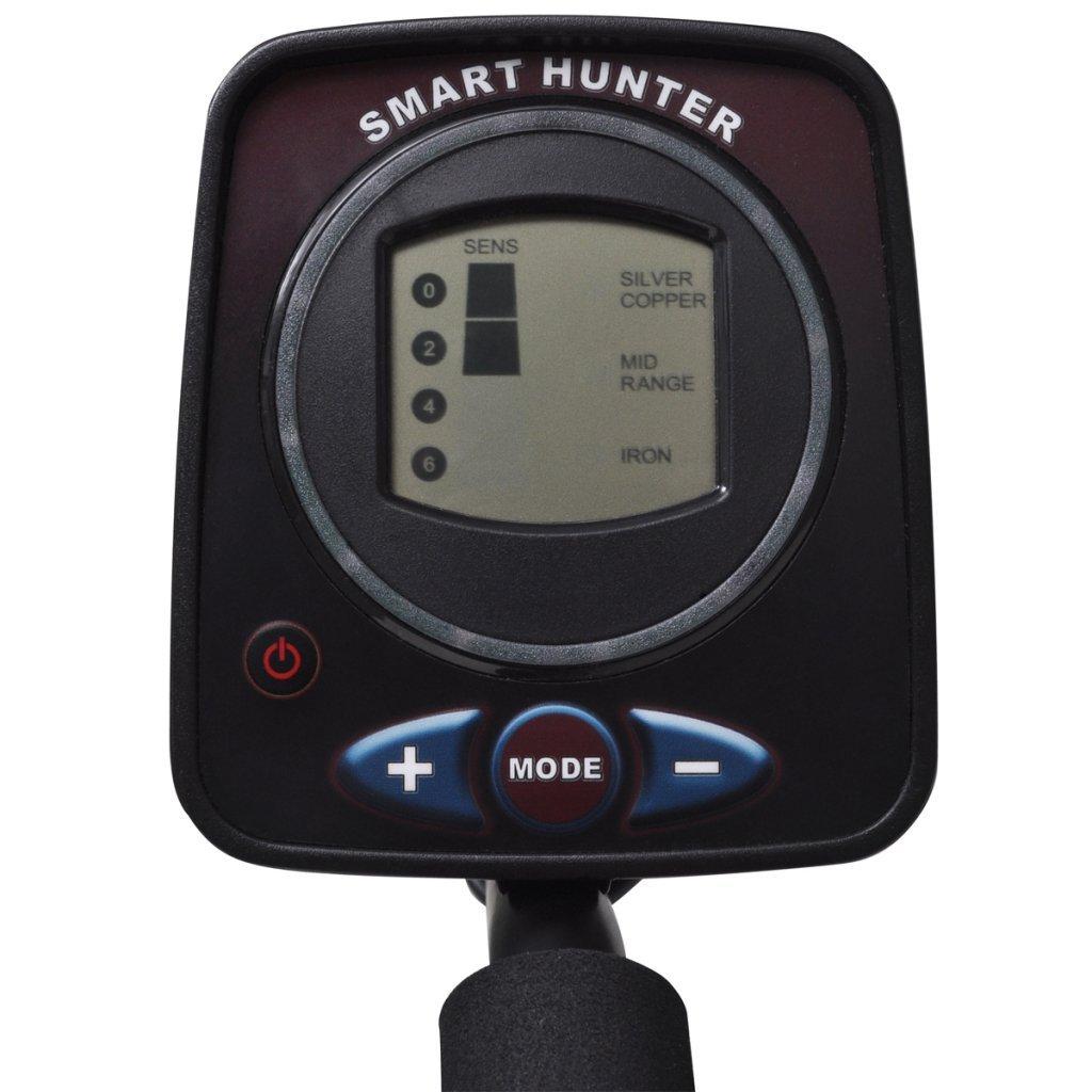 vidaXL Detector de Metales con Pantalla LCD Y Bobina Detectora de 21 Cm: Amazon.es: Hogar