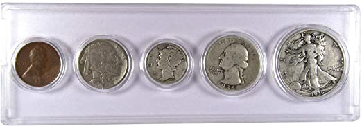 1936 5-Coin Year Set Circulated