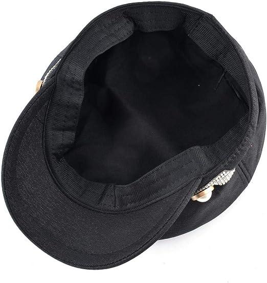 Gorra militar Sombreros militares de otoño para mujeres Gorra de ...