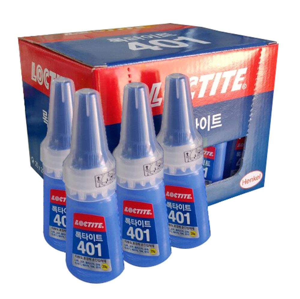 25 X Loctite 401 20g Instant Adhesive Stronger Super Glue Multi-purpose by Loctite