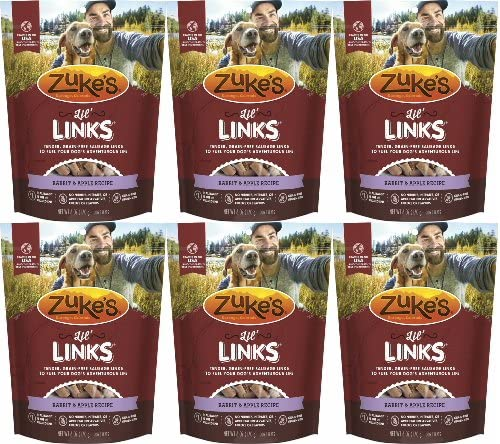 Zuke s Lil Links Rabbit Apple 2.25Lbs 6 x 6oz