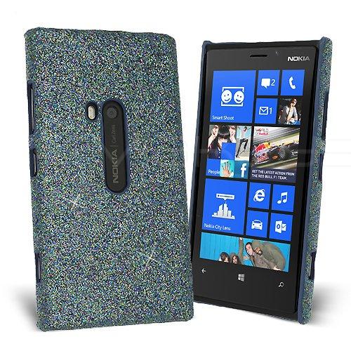 Celicious® Slender G - Hülle Glänzende Glitzer-Handyschale für Nokia Lumia 920 - Turquoise