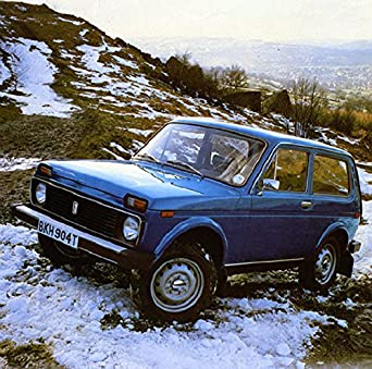 Amazon Com 1980 Lada Niva 4x4 Suv Factory Photo Entertainment