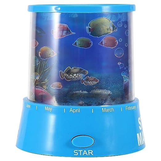 Proyector De Luz Led, Ocean Sea Sleeping Pequeña Luz De Proyección ...