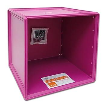 Amazing Itso Magenta Plastic Storage Cube Bin