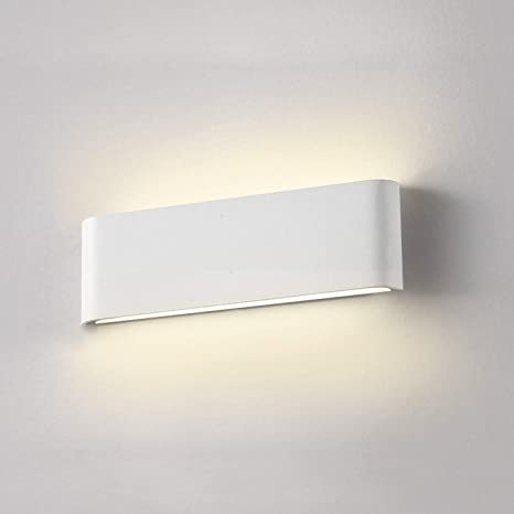 Halbrund 3W Led Wandlampe Led Wandleuchte Flurlampe Warmweiß Wanddeko mit 3 leds