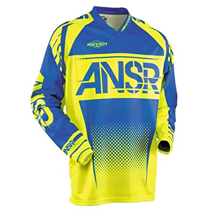 Answer Racing A17.5 Syncron Mens Off-Road Motorcycle Jerseys Protective Gear Acid BLUE/2X-LARGE
