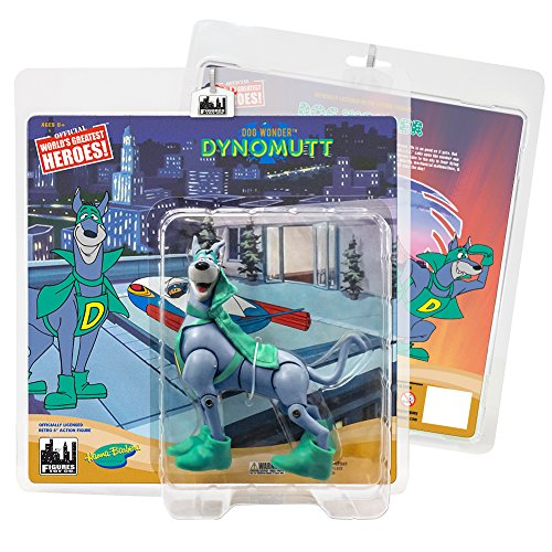 Dynomutt Retro Action Figures Series: Dynomutt [Green Superhero Outfit]