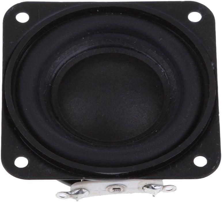 KESOTO 1 St/ück 43mm Audio Gummikante 3Ohm 3W 16 Quadrat Verstellbare Ferromagnetische Spulen