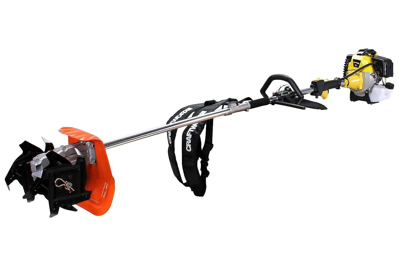 Craftworx Benzin Bodenfräse/Kultivierer Multitool 52cc - 3 Ps - 2 Takt BFM52-2