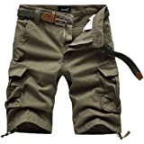 Nutovi Men's Cargo Shorts Relaxed Fit with Multi Pockets