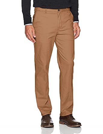 2e112186 IZOD Men's Saltwater Washed Straight-Fit Stretch Chino Pants Cognac ...
