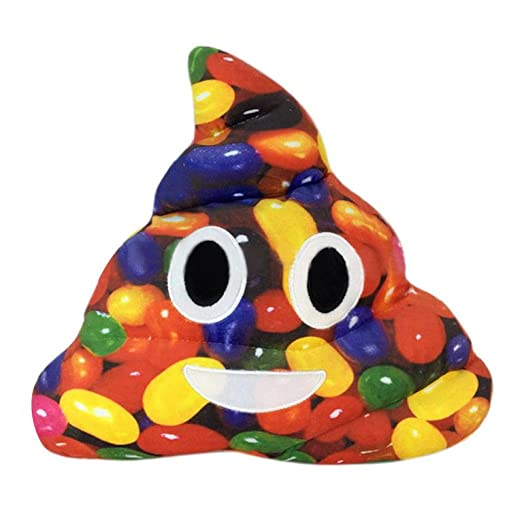 Colorful caca cojín, omiky® Camuflaje Divertido Emoji ...