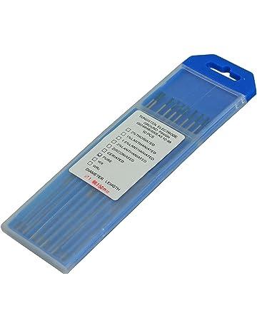 Soldadura TIG pura Electrodos tungsteno Verde WP 1,6mm x 150mm & 1/16