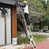 Thickened Aluminum Telescoping Ladder Extension