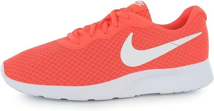 Nike Tanjun – Zapatillas de entrenamiento para hombre rojo/blanco deporte zapatillas Trainers, rojo / blanco, (UK11) (EU46) (US12): Amazon.es: Deportes y aire libre