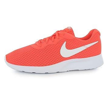 purchase cheap 0fb1c 7fa56 Nike Tanjun - Zapatillas de entrenamiento para hombre rojo blanco deporte  zapatillas Trainers, rojo   blanco, (UK11) (EU46) (US12)  Amazon.es   Deportes y ...