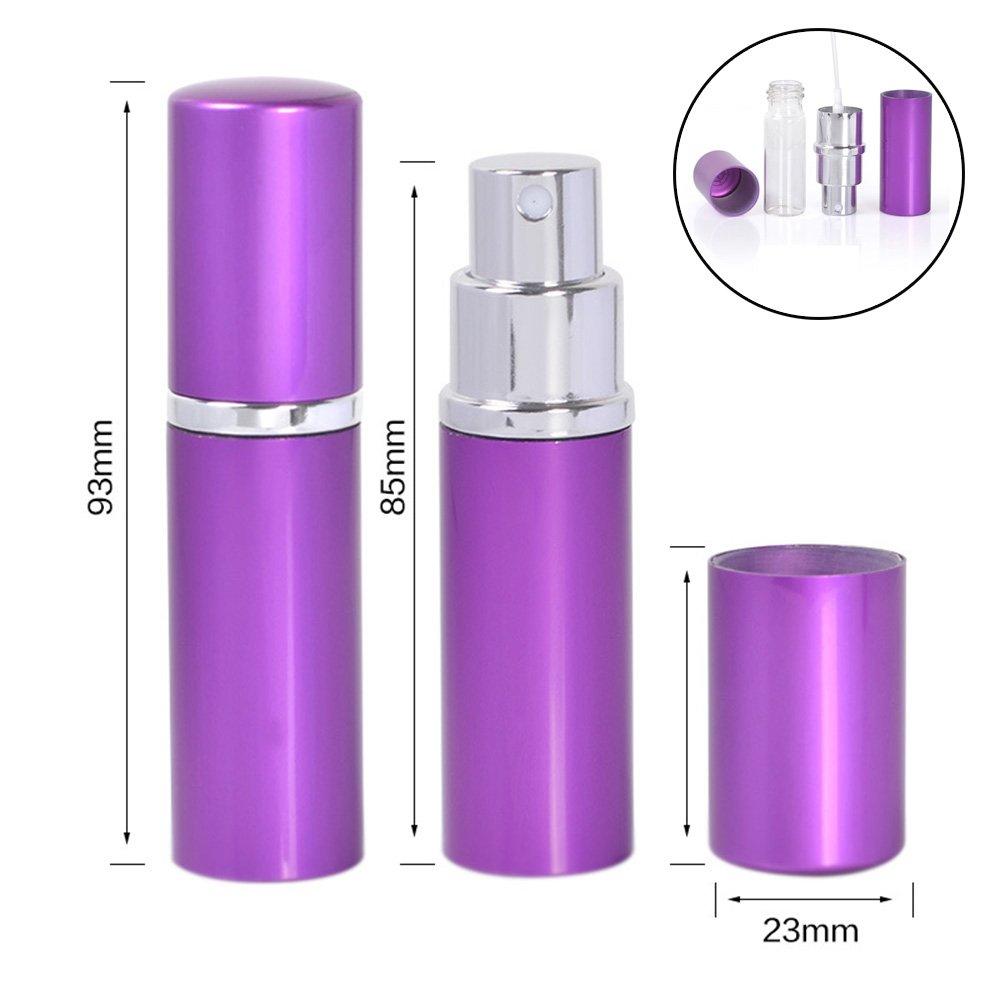 Amazon.com: Juego de 3 botellas de perfume, atomizador de ...