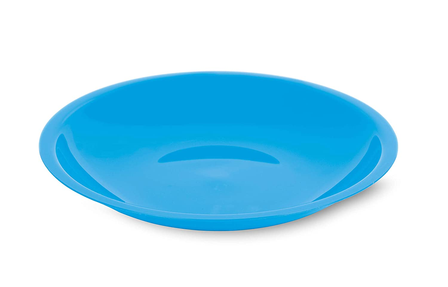 , Blue 13.75in Round Serving Plate 2pk Mintra Home Plastic Serving Trays