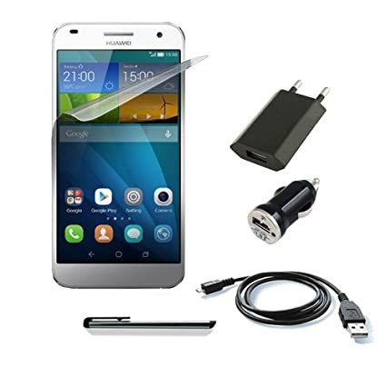 bloox Juego Kit Accesorios para Huawei Ascend G7 Cable ...